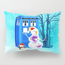 Tardis of Christmas Pillow Sham