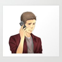 stiles Art Prints featuring Stiles by Autumnleaves