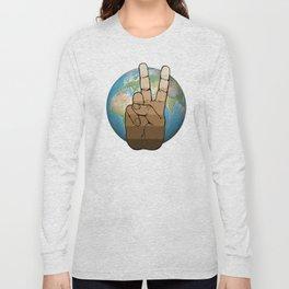 World Peace Long Sleeve T-shirt