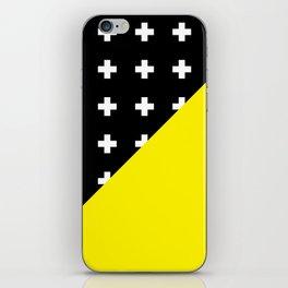 Memphis pattern 80 iPhone Skin