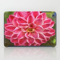dahlia iPad Cases featuring Dahlia by Leisha Cross