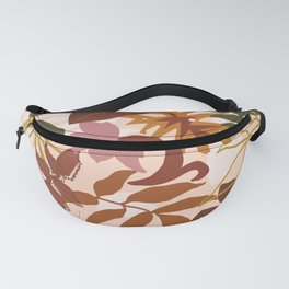 Floral abstract TERRA Fanny Pack