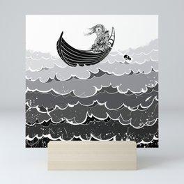 Death At Sea Mini Art Print