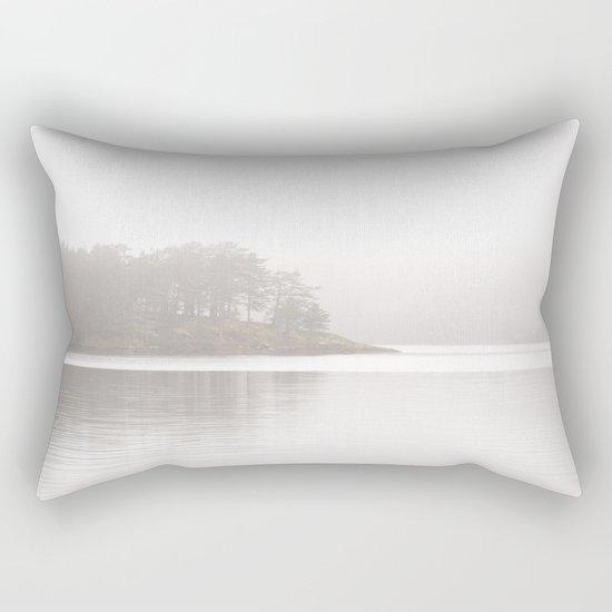 Foggy Crag  Rectangular Pillow
