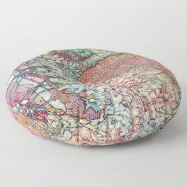 Siren's Ride Floor Pillow