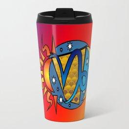 astrology Capricorn Travel Mug
