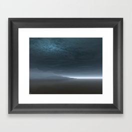 Blue Dawn Framed Art Print