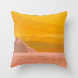 La Cholla II Throw Pillow
