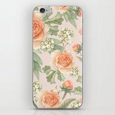Flowered nature iPhone & iPod Skin