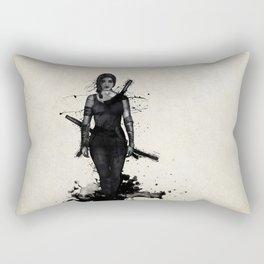 Onna Bugeisha Rectangular Pillow