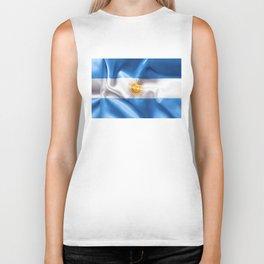 Argentina Flag Biker Tank