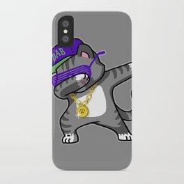 Dabbing Cat iPhone Case