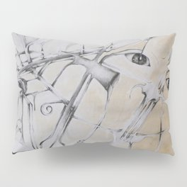 An Abstract Perspective  Pillow Sham