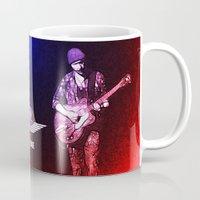 u2 Mugs featuring U2 / The Edge by JR van Kampen