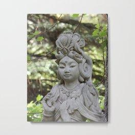 Garden Grace Metal Print