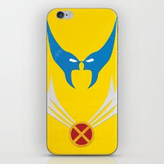 Minimal Wolverine iPhone & iPod Skin
