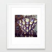 gem Framed Art Prints featuring Gem by Kate Lauren