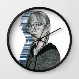 Transposed Wall Clock
