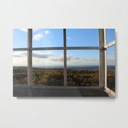 Grafton Fire Tower View Metal Print