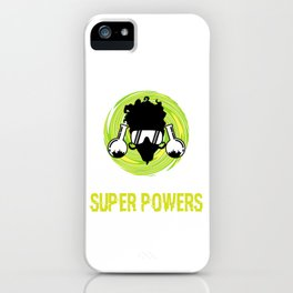 """Great Laboratory Tee For Scientists """"Forget Lab Safety I Want Super Powers"""" T-shirt Design Flask iPhone Case"""