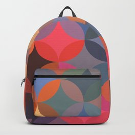 Moroccan pattern multicolor Backpack