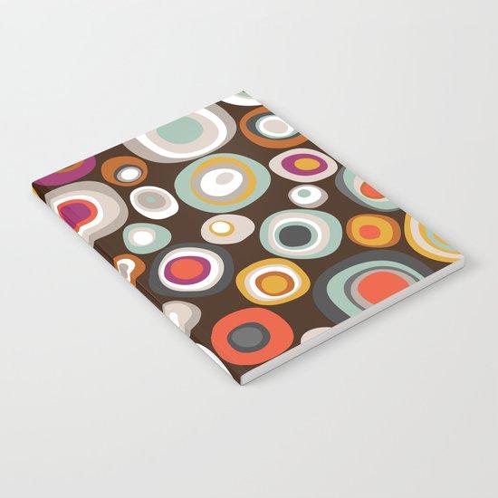 veneto boho spot chocolate Notebook