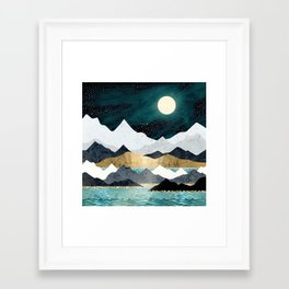 Ocean Stars Framed Art Print