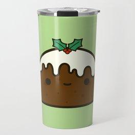 Cute Christmas pudding Travel Mug