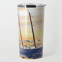 Sunset Sailing Travel Mug