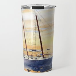 Sunset Sailing Travel Mug