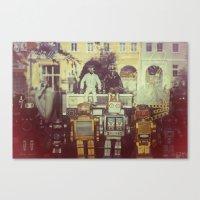 robots Canvas Prints featuring Robots by GF Fine Art Photography