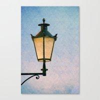 lantern Canvas Prints featuring lantern by Claudia Drossert