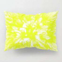 Make A Wish Dandelion Vector In Yellow Pillow Sham