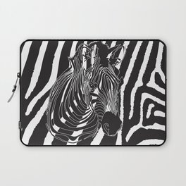 Zebra - Optical Art 5 Laptop Sleeve