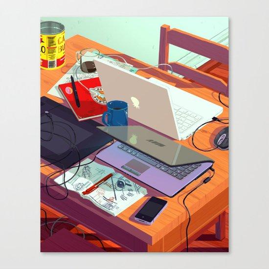 A Party Canvas Print