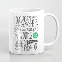 Created in Christ Jesus Coffee Mug
