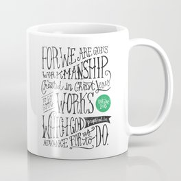 Created in Christ Jesus Coffee Mug