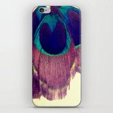 Peacocking iPhone & iPod Skin