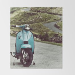 Lambretta Mountain Pass Throw Blanket