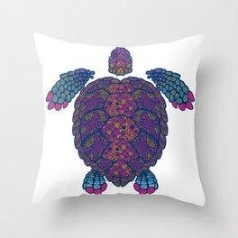 Alebrije Turtle 2 Throw Pillow