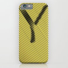 Y from 36 Days of Type | 2016 Slim Case iPhone 6s