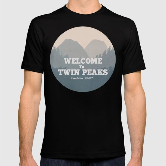 Welcome to Twin Peaks v2 T-shirt