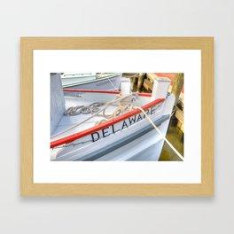 The Delaware Framed Art Print