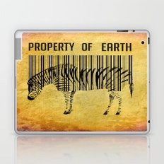 The encoded zebra Laptop & iPad Skin