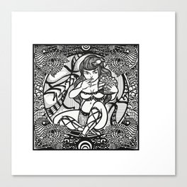SEVEN: Gluttony Canvas Print