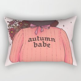 Autumn Babe Rectangular Pillow