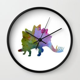 Stegosaurus Wall Clock