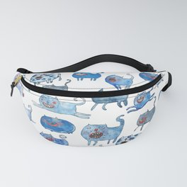 Cat's pyramide Fanny Pack