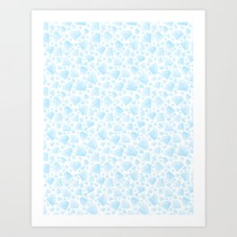 Diamond Pattern Art Print