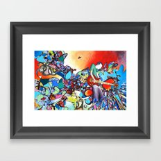 Pentatonic Framed Art Print